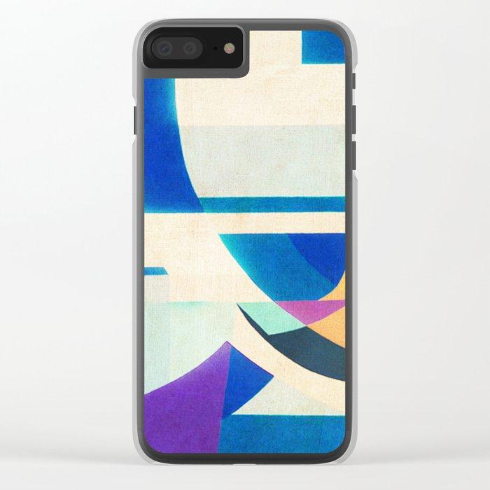 Auguste Herbin in Leblon Clear iPhone Case