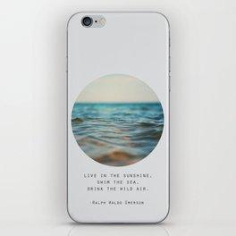Swim The Sea #2 iPhone Skin