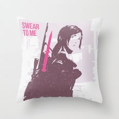 Swear to me... Throw Pillow