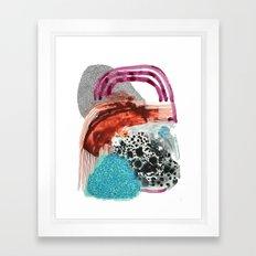 Little Fang Framed Art Print