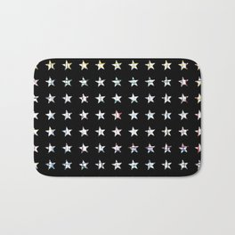 The System - small star Bath Mat