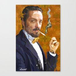 PORTRAIT: Gentleman Canvas Print