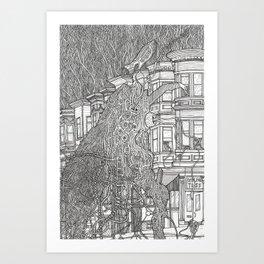 SF Friendship Art Print
