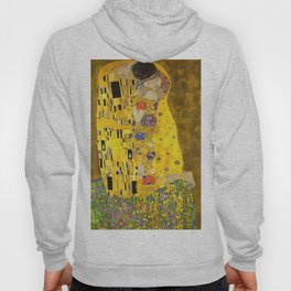 The Lovers Kiss After Klimt Hoody