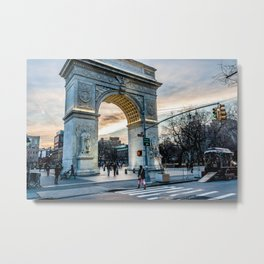 Washington Square Park, Greenwich Village NYC Metal Print