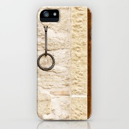 A Wall in San Marino iPhone Case