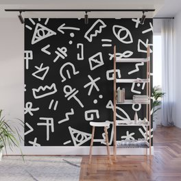 LARRY BLACK Wall Mural