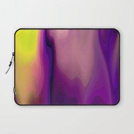 Sunset Flowing Paint Colors Laptop Sleeve