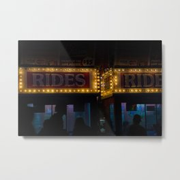 Night Rides Metal Print