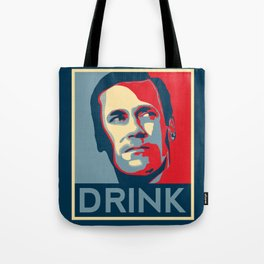 Drink Poster Tote Bag