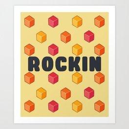 Rockin Art Print