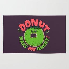 Donut Make Me Angry! Rug