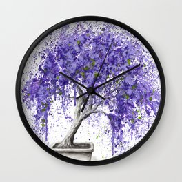 Balancing Bonsai Wall Clock