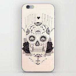 Dia de los muertos iPhone Skin