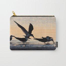 Watercolor Bird, Black Skimmer 14, Gulf Island Beach, Florida, Amongst Friends Carry-All Pouch