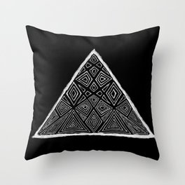 Root Two Triangle  Throw Pillow