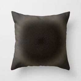 Field Tension Throw Pillow