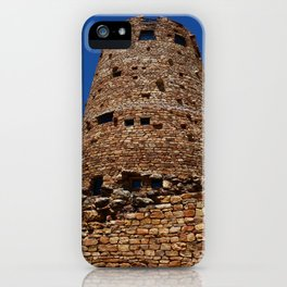 Desert View Watchtower - South Rim Grand Canyon iPhone Case