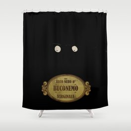 """Bunemo from Black Hole """"O"""" (Virginale) Shower Curtain"""