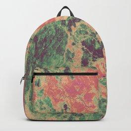 Ethiopia Cartography Art - Rainbow Sorbet Backpack