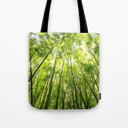 Maui Bamboo Forest Tote Bag