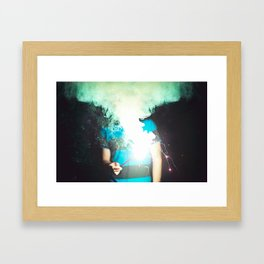 Cloud of Smoke Framed Art Print