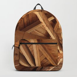 Web of wooden joists Backpack