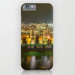 HMM Container Ship. iPhone Case
