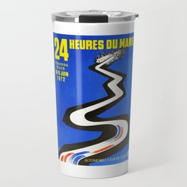 1972 Le Mans poster, car poster, race poster, t-shirt Travel Mug