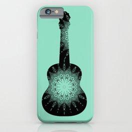 guitare mandala iPhone Case