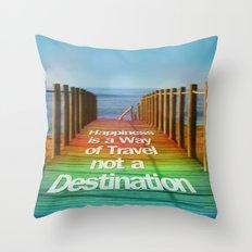Path Throw Pillow