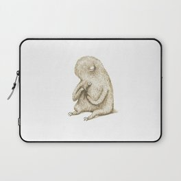 Sloth With Flower Laptop Sleeve