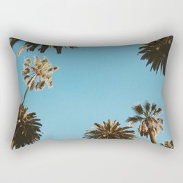 Los Angeles California Palm Trees Fine Art Photography Rectangular Pillow
