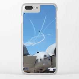 A-10 Warthog Clear iPhone Case