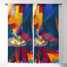 Stanton Macdonald Wright Synchromy III Blackout Curtain