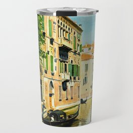 Venezia - Venice Italy Vintage Travel Travel Mug