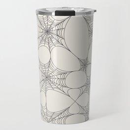 Spiderweb Pattern Travel Mug