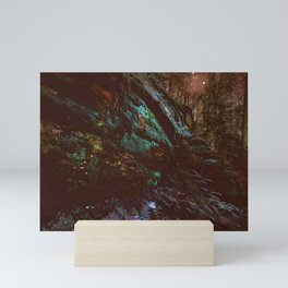 Forest Wall Dark Fairy Landscape Mini Art Print