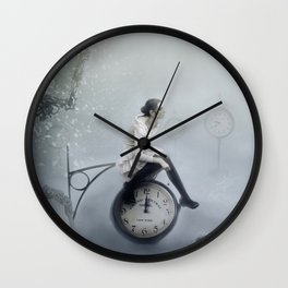 Disaster Wall Clock