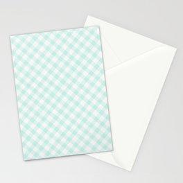 Summer Plaid 16 Stationery Cards