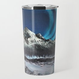 Winter Auroras Travel Mug