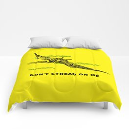 Don't Ptread on Me (don't tread on me) Comforters