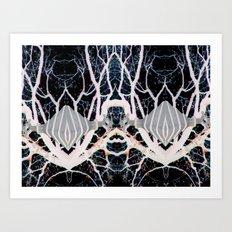Internal Kaleidoscopic Daze- 8 Art Print