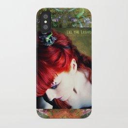 Liz the Lizard iPhone Case
