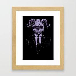 Black Bussiness Framed Art Print