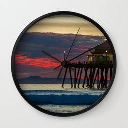 Ruby Clouds Behind Ruby's Wall Clock