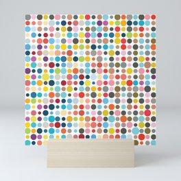 Tangled Up In Colour Mini Art Print
