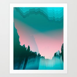 sundowners  Art Print