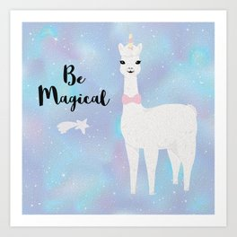 Be Magical Art Print