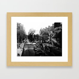 25th St. Framed Art Print